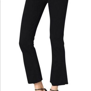 Paige Rory Crop Flare Black 29